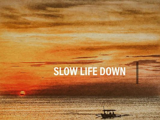 slowing life down is key to stress relief