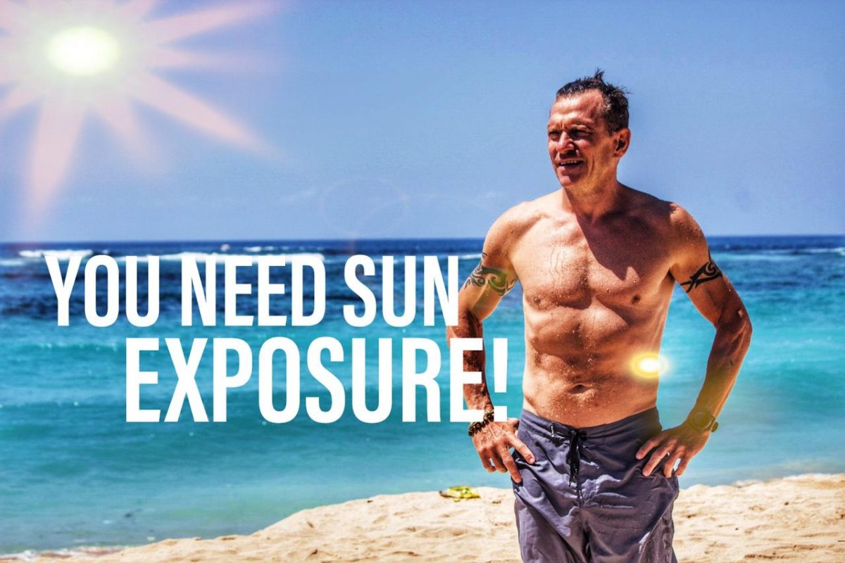 Sun Exposure is good for us.