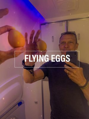 Eggs on the plane