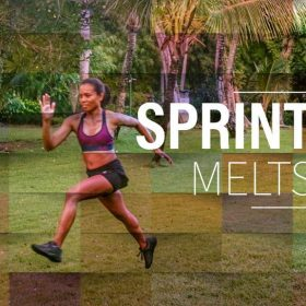 Sprint Training supports fat loss and lean muscle