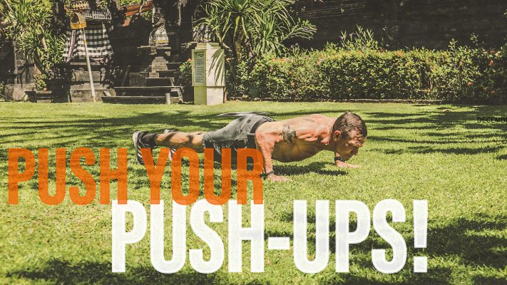 outdoor push-up
