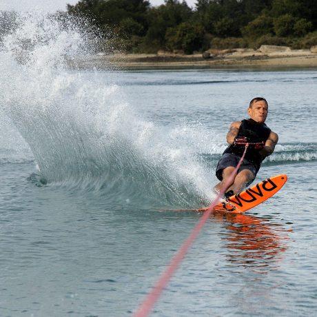 Waterskiing